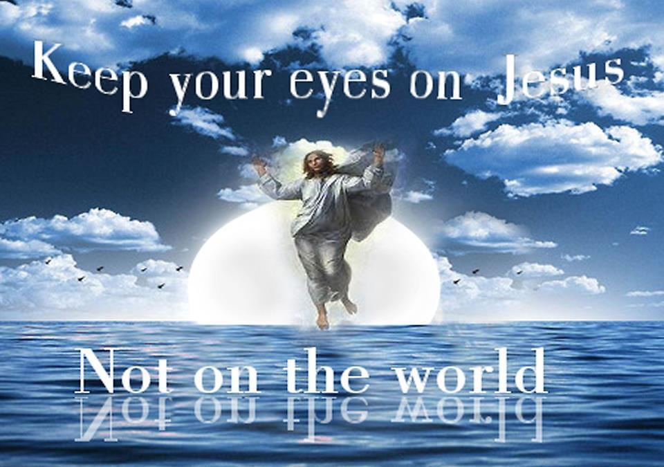 Keep Your Eyes on Jesus by ArtChances