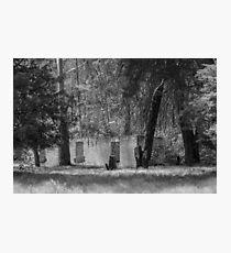 Joadja Ruins - Black And White Photographic Print