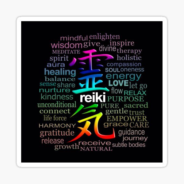 Reiki Sticker