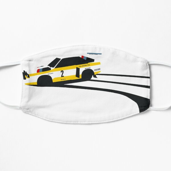 Audi Quattro S1 1985 Masque sans plis