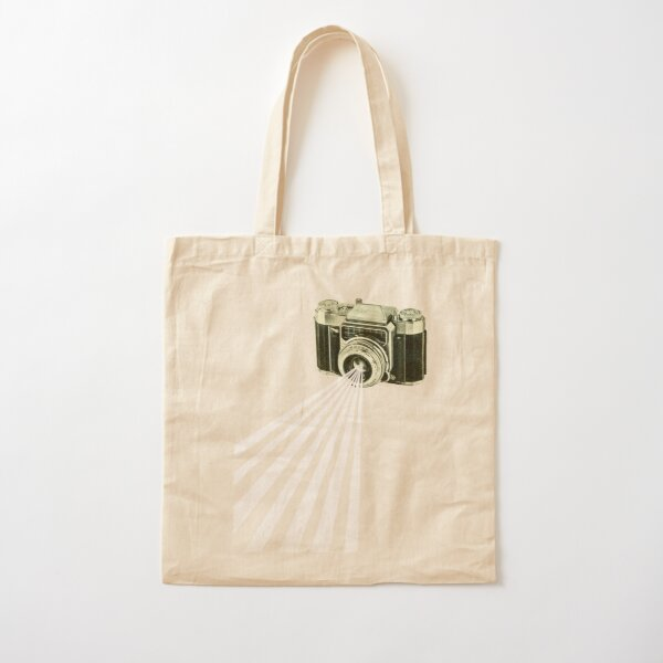 Depth of Field Cotton Tote Bag