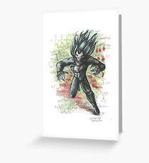 Morbius the Living Vampire Greeting Card