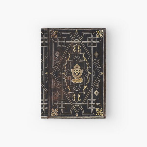 Leather and Gold Hardcover Journal