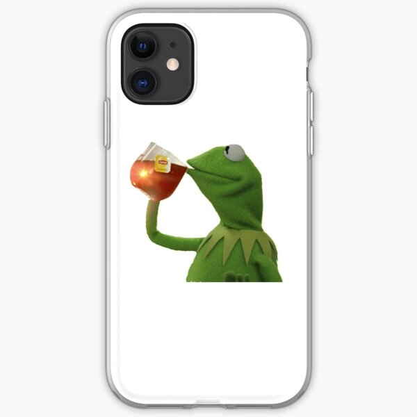 Kermit Sipping Tea iPhone Soft Case