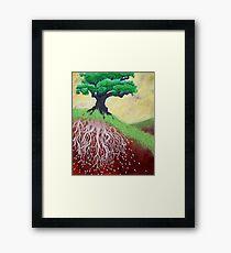 I am Nurtured by Mother Earth Framed Print
