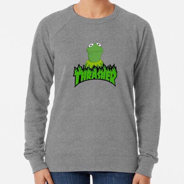sk8r kermit Lightweight Sweatshirt