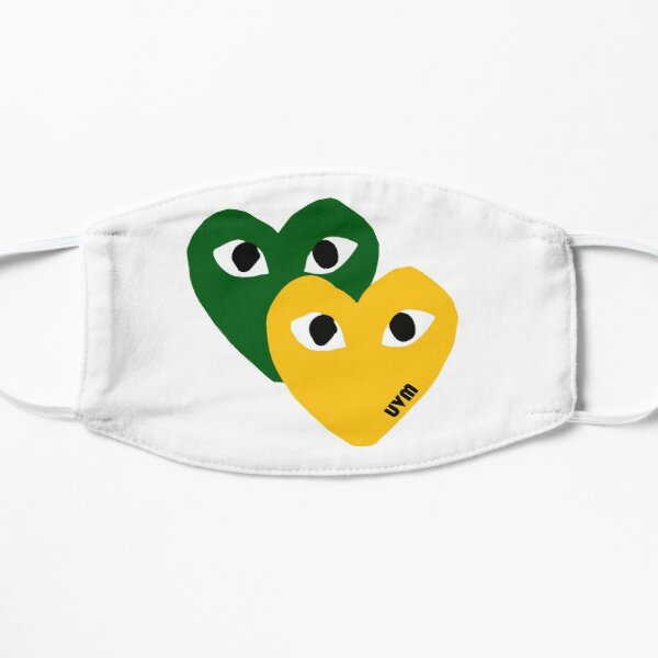 UVM Hearts Mask