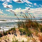 FALL DAY AT THE BEACH by RichardBlanton