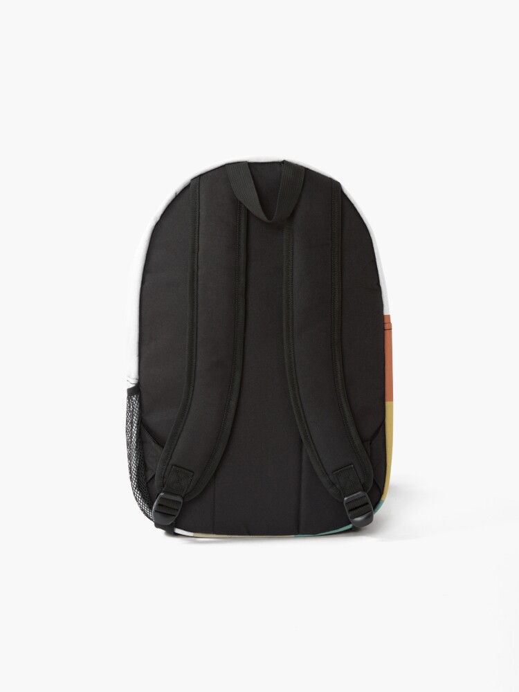 Alternate view of Retro Surfer Girl Wave Backpack
