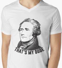Hamilton - That's My Dude Men's V-Neck T-Shirt