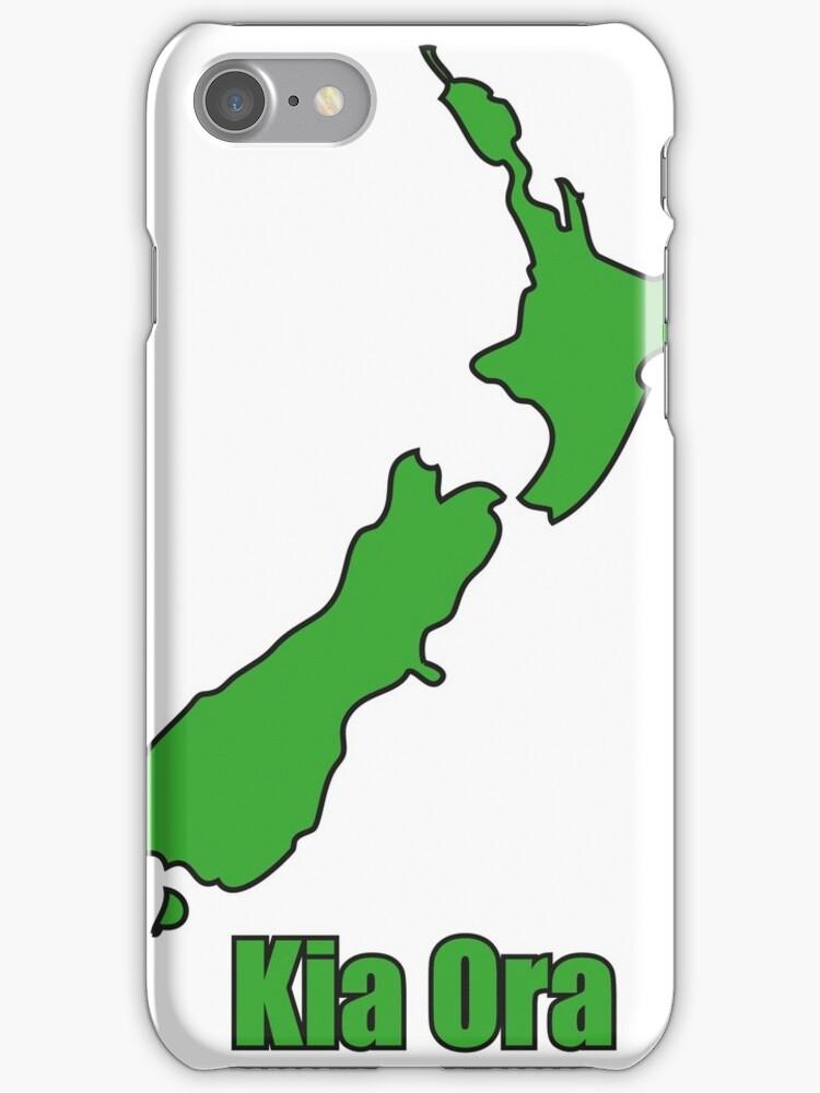 NZ Kia Ora by kiwiartyfarty