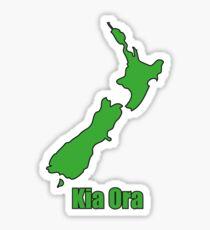 NZ Kia Ora Sticker