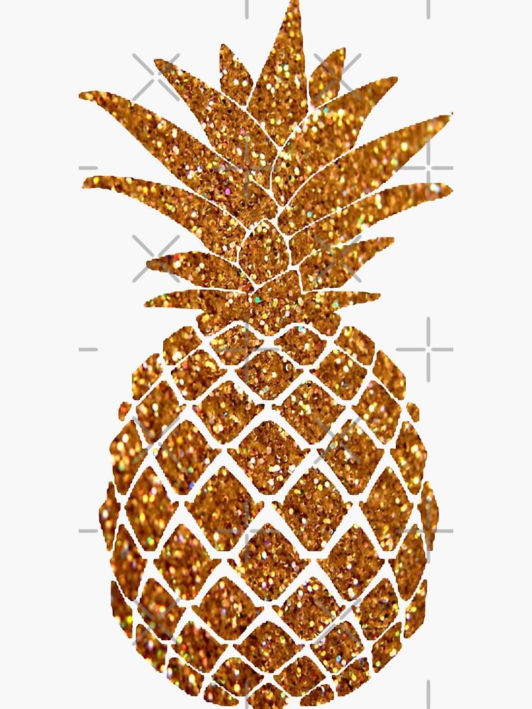 Goldene Ananas
