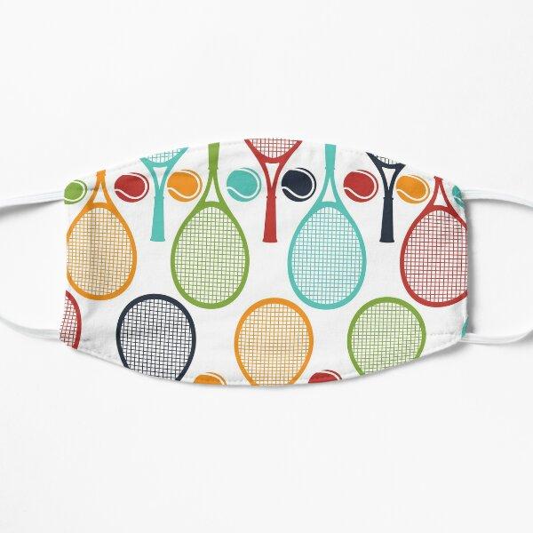 Fun Tennis Love Gift Tennis Racket and Tennis Ball Design for Tennis Players, Tennis Teams, and Tennis Captain Mask