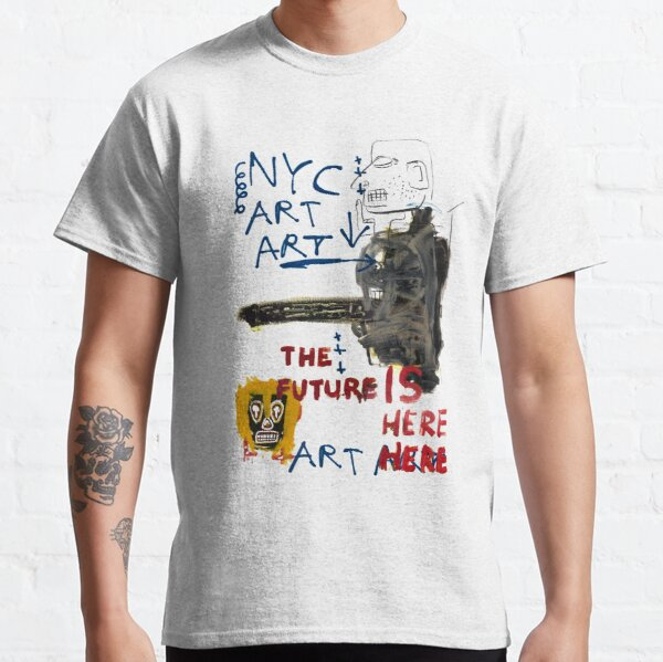 Arte de Nueva York Camiseta clásica
