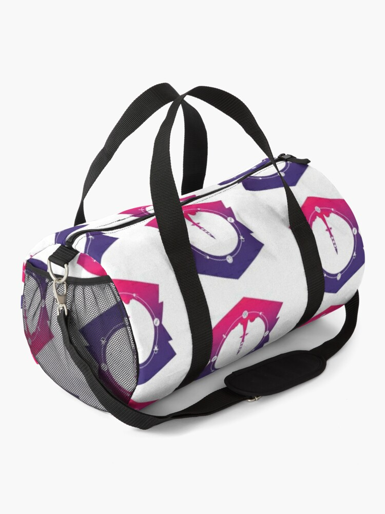 Alternate view of Traveling To The Moon Duffle Bag
