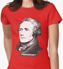 Alexander Hamilton Womens Fitted T-Shirt