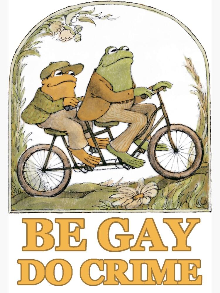 Frog & Toad Sticker by FinntasticWorld
