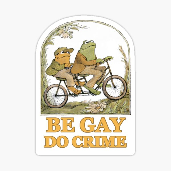 Frog & Toad Sticker Sticker