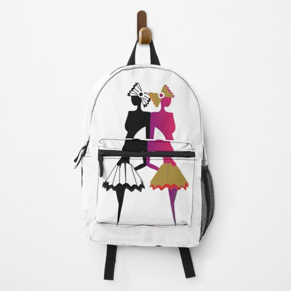 The Twin Ballerinas  Backpack