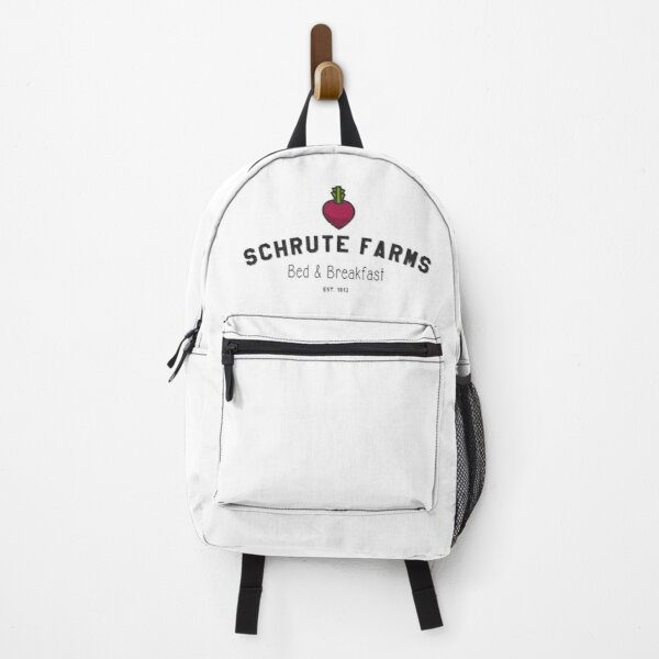 Schrute Farms, Beets, Bed and Breakfast, Design for Wall Art, Prints, Posters, Men ,Women, Kids Backpack