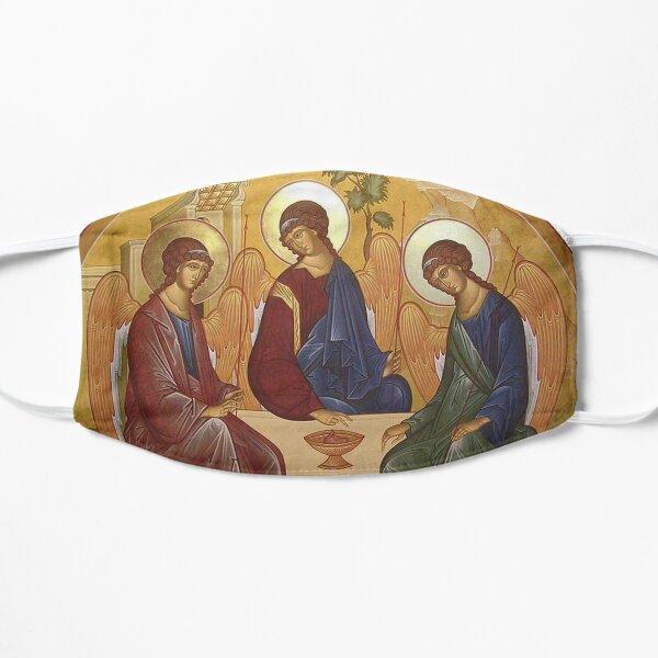 The Hospitality Of Abraham Flat Mask