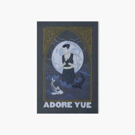 Adore Yue Art Board Print