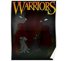 Gray Wing and Clear Sky - Warriors Poster