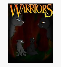 Gray Wing and Clear Sky - Warriors Photographic Print