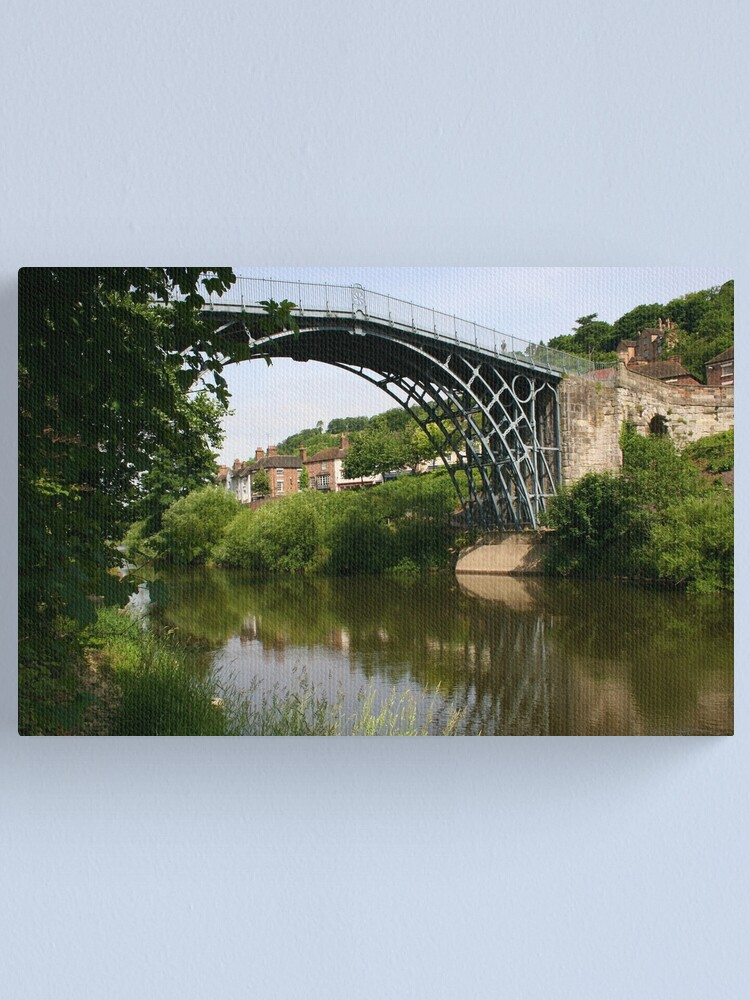 Alternate view of IRONBRIDGE Canvas Print