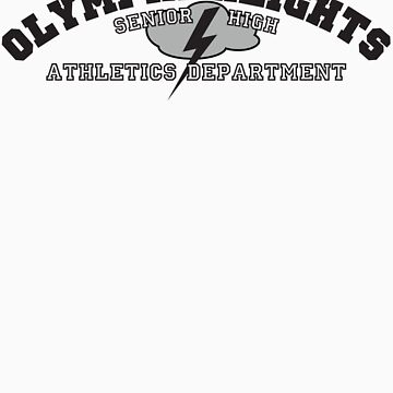 Olympia Heights Athletics (Black & White) by matterdeep