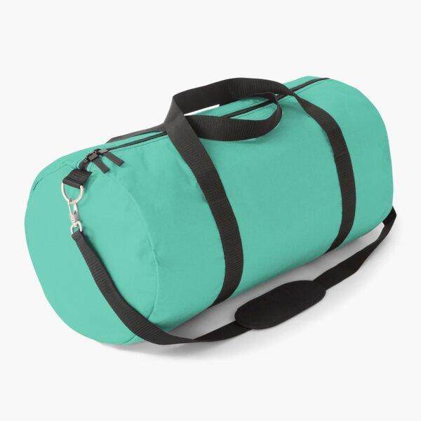 Biscay green plain Duffle Bag
