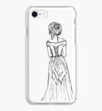 Lady in a Corset iPhone Case/Skin