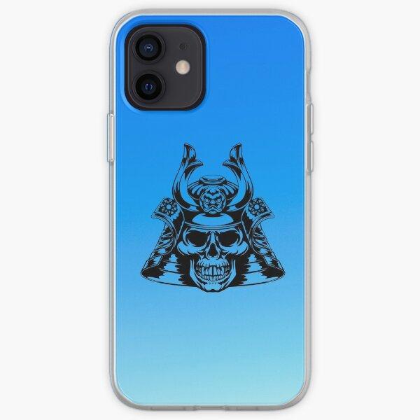 Mascarilla debajo de la armadura Funda blanda para iPhone