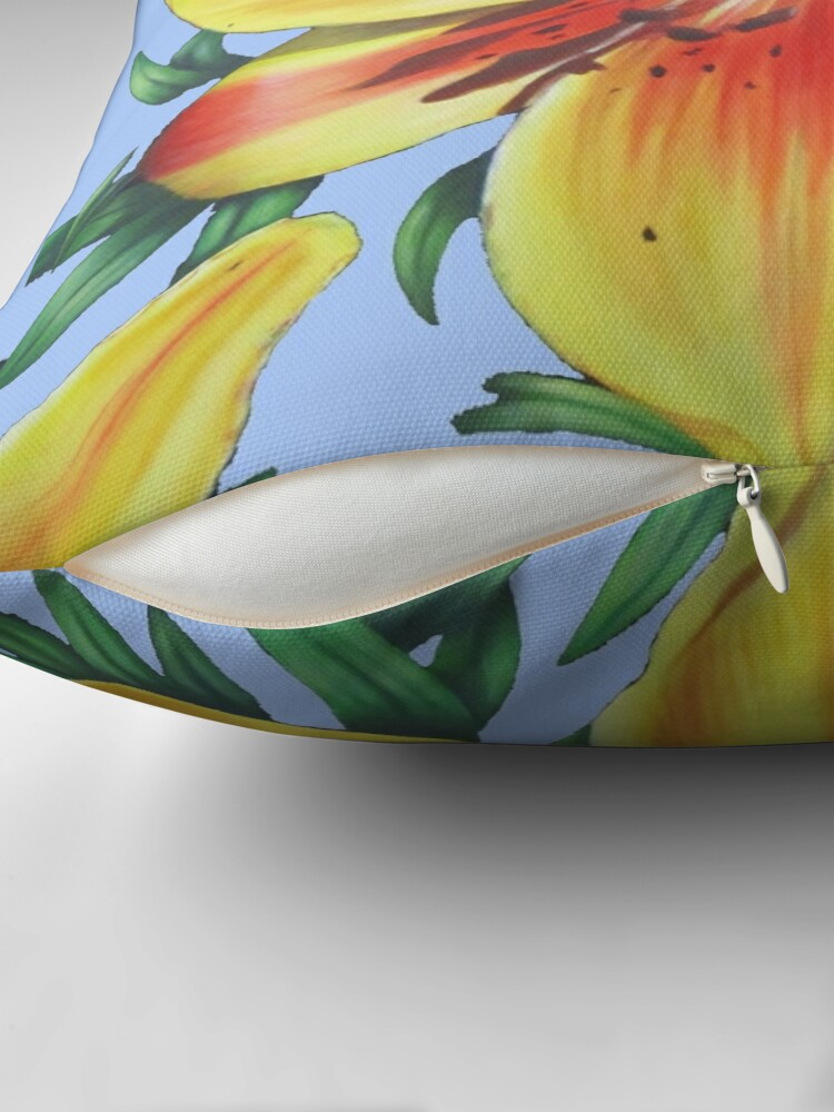 Alternate view of Jersey Lily Throw Pillow