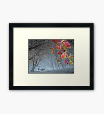 End of November Framed Print