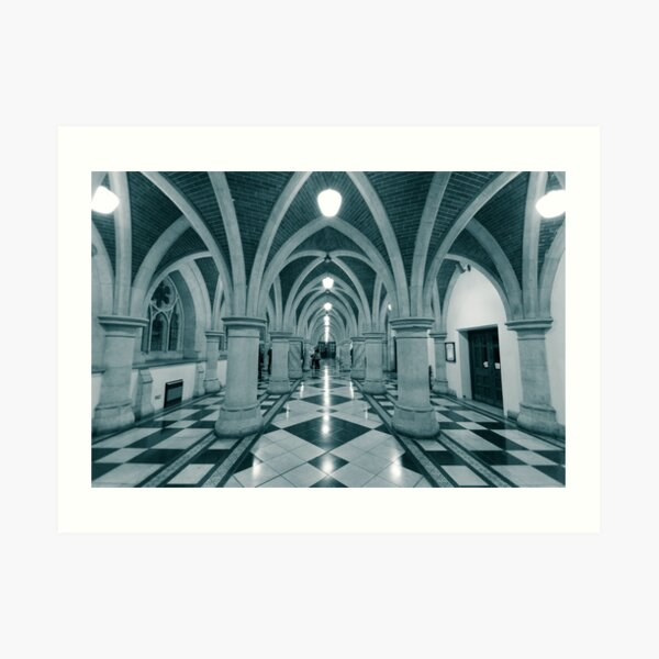 Royal courts of justice Art Print
