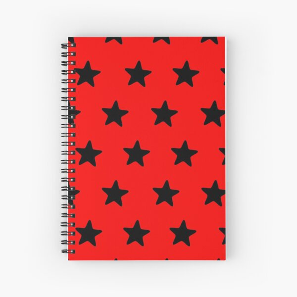 Red & Alive Spiral Notebook