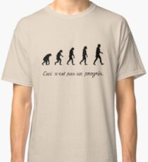 99 Steps of Progress - Surrealism Classic T-Shirt