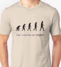 99 Steps of Progress - Surrealism Unisex T-Shirt
