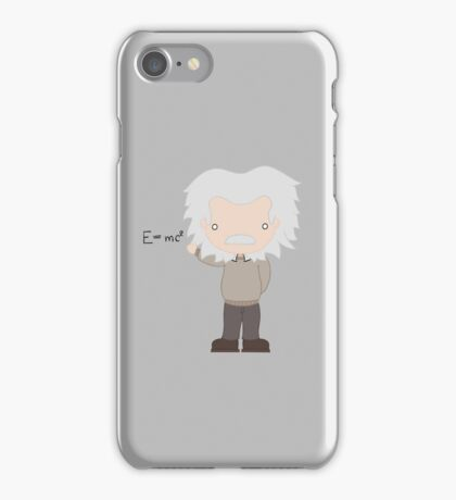 Excuse Me While I Science: Albert Einstein - E=mc² Equation iPhone Case/Skin