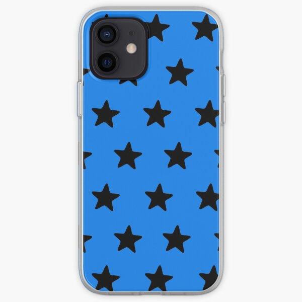 Black n blue iPhone Soft Case