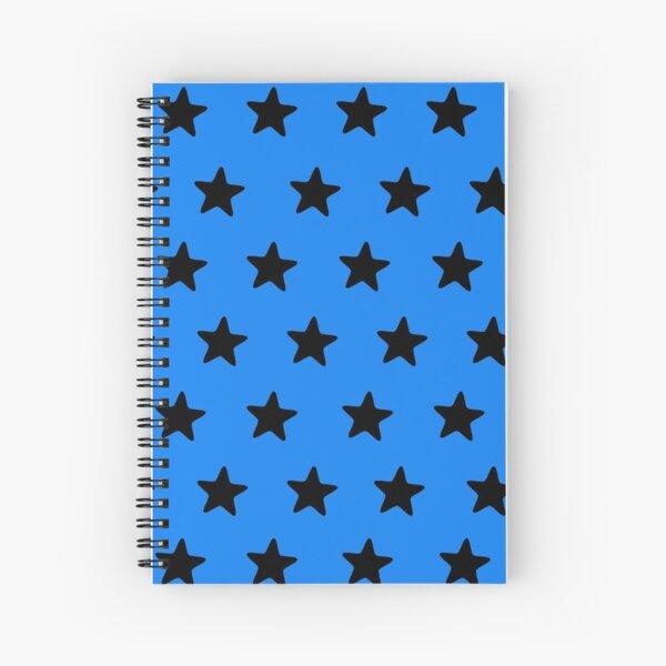 Black n blue Spiral Notebook