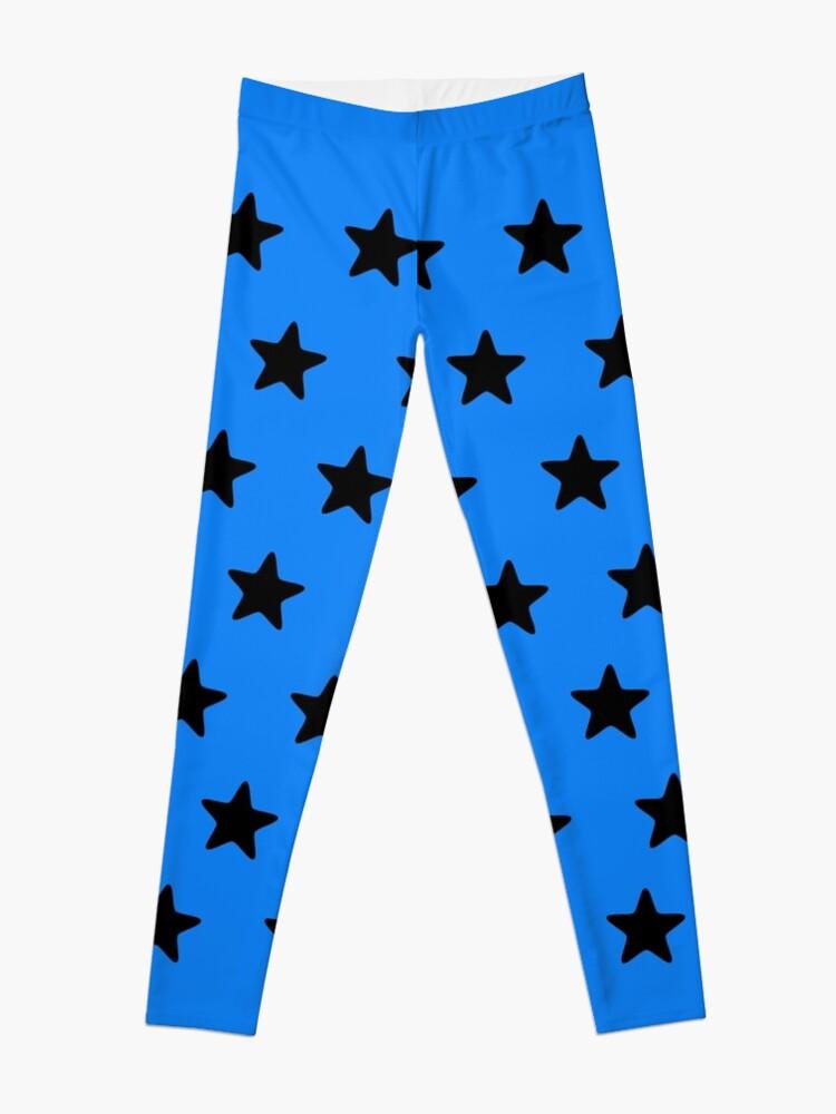 Alternate view of Black n blue Leggings