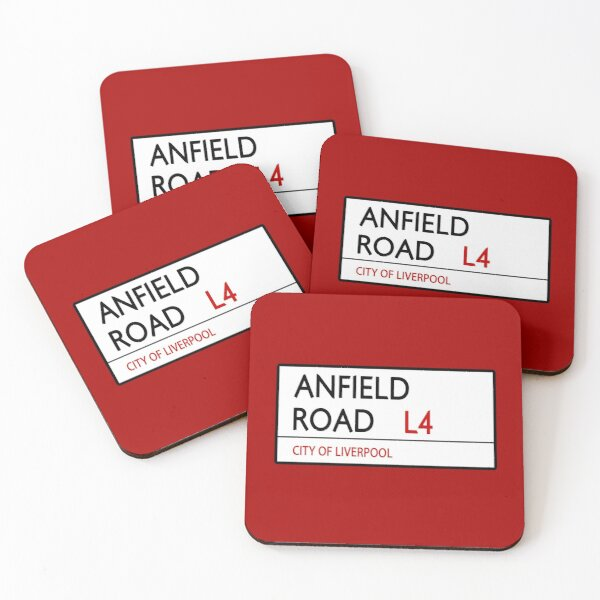 Anfield Road Coasters (Set of 4)