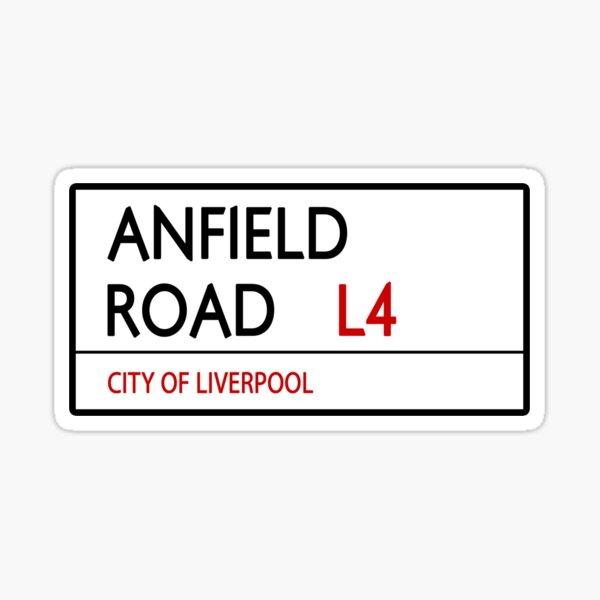 Anfield Road Sticker
