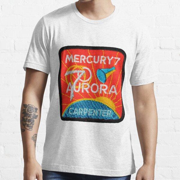 Mercury-Atlas 7 (Aurora 7) Mission Logo Essential T-Shirt