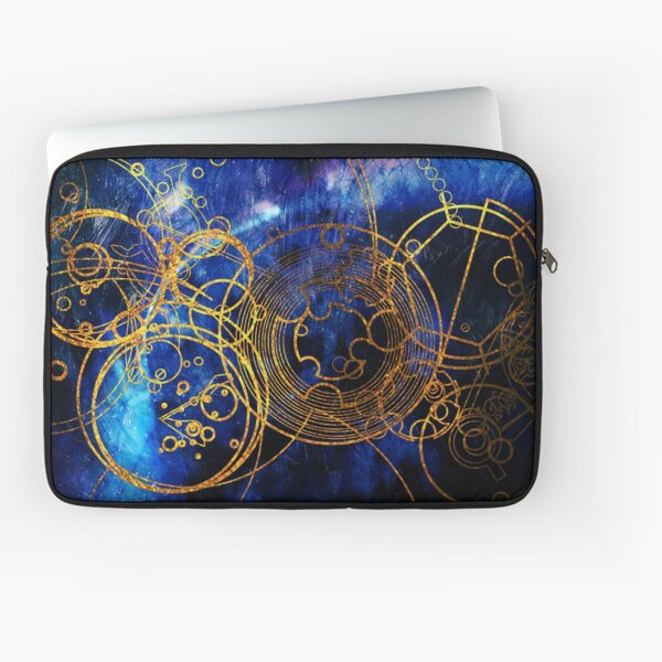 Time Lord Writing (blue) Laptop Sleeve