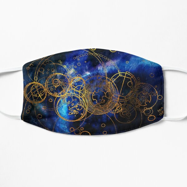 Time Lord Writing (blue) Mask