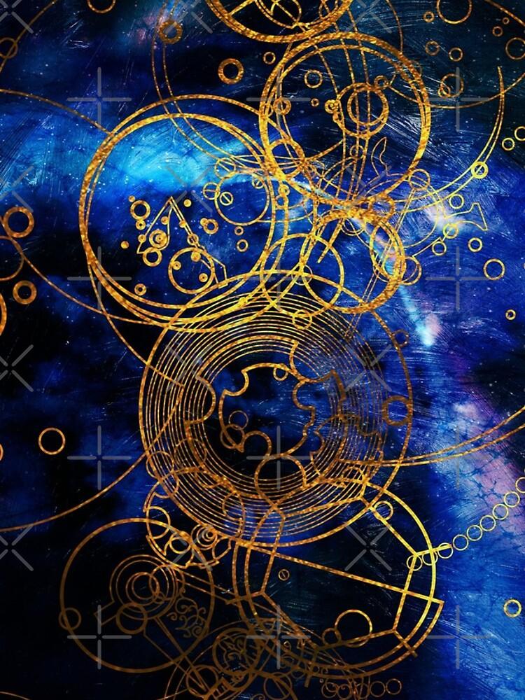 Time Lord Writing (blau) von TheWhiteBear